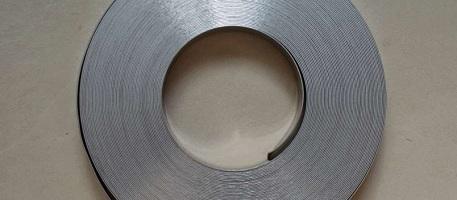 Лента бандажная из нержавеющей стали