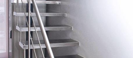 Нержавейка для лестниц