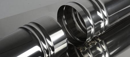 Трубы из нержавеющей стали для дымоходов