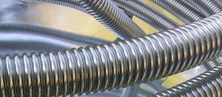 Трубы нержавеющие гофрированные для водопроводных и отопительных систем